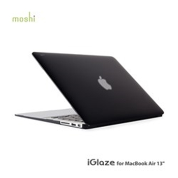 "Picture of Moshi iGlaze MacBook Air 13"" Mk2 - Black"