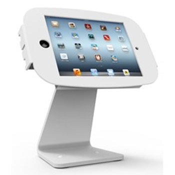 Picture of MacLocks Space Mini 360 iPad mini Enclocaure Kiosk - White
