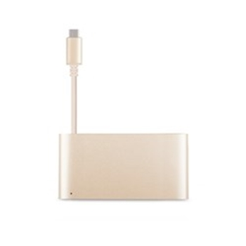Picture of Moshi USB-C Multiport Adapter - Satin Gold