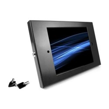 Picture of Maclocks iPad Enclosure & Mount Kiosk Bundle with Security Lock - Black