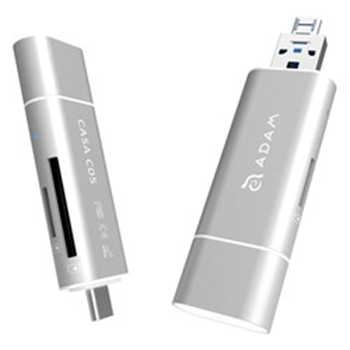 Picture of Adam Elements CASA C05 - USB 3.1 to USB Type C 5-in-1 OTG - Silver