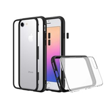 Picture of RHINOSHIELD MOD for iPhone 7/8 (with Rim, Button, Frame, Clear Back Plate)-Black