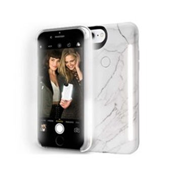 Picture of LuMee duo iPhone 8 - White Marble