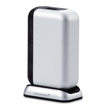 Picture of Just-Mobile Topgum++ USB Power Pack With Charging Dock 6000 mAh - Silver