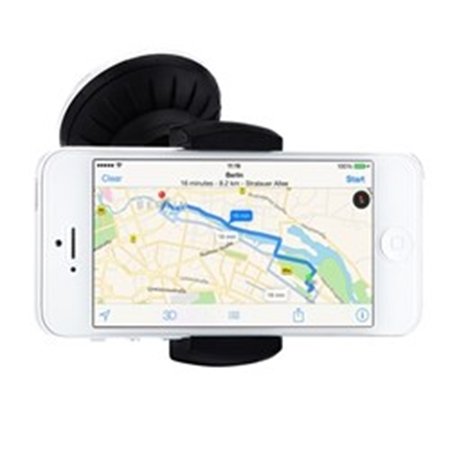 Picture of Just-Mobile Xtand Go™ Z1 Deluxe iPhone Car Holder - Black