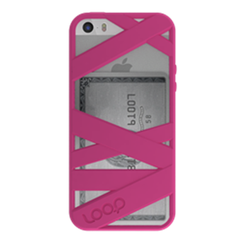 Picture of Loop Attachment Mummy iPhone 5/5s - Magenta