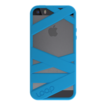 Picture of Loop Attachment Mummy iPhone 5/5s - Neon Blue