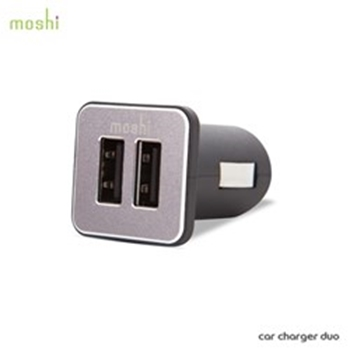 Picture of Moshi 21W / 4.2A Dual-Port USB Car Charger - Black