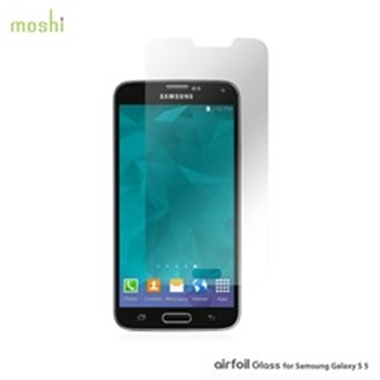 Picture of Moshi Airfoil Glass For Samsung Galaxy S5