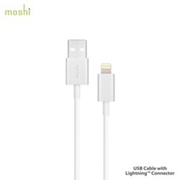 Picture of Moshi USB Cable Lightning Connection - White