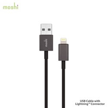 Picture of Moshi USB Cable Lightning Connection - Black