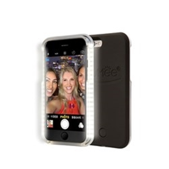 Picture of LuMee lighted cell phone case for iPhone 6S - Black