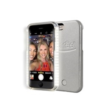 Picture of LuMee lighted cell phone case for iPhone 6S - Silver