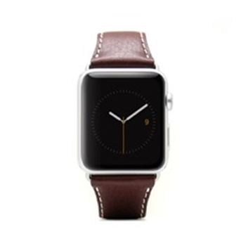 Picture of SLG Design D6 Italian Minerva Box Leather Strap for Apple Watch 42mm - Brown